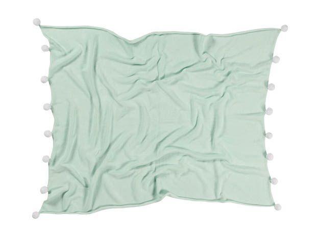 Lorena Canals - Baby Deken Bubbly Mint 100 x 120