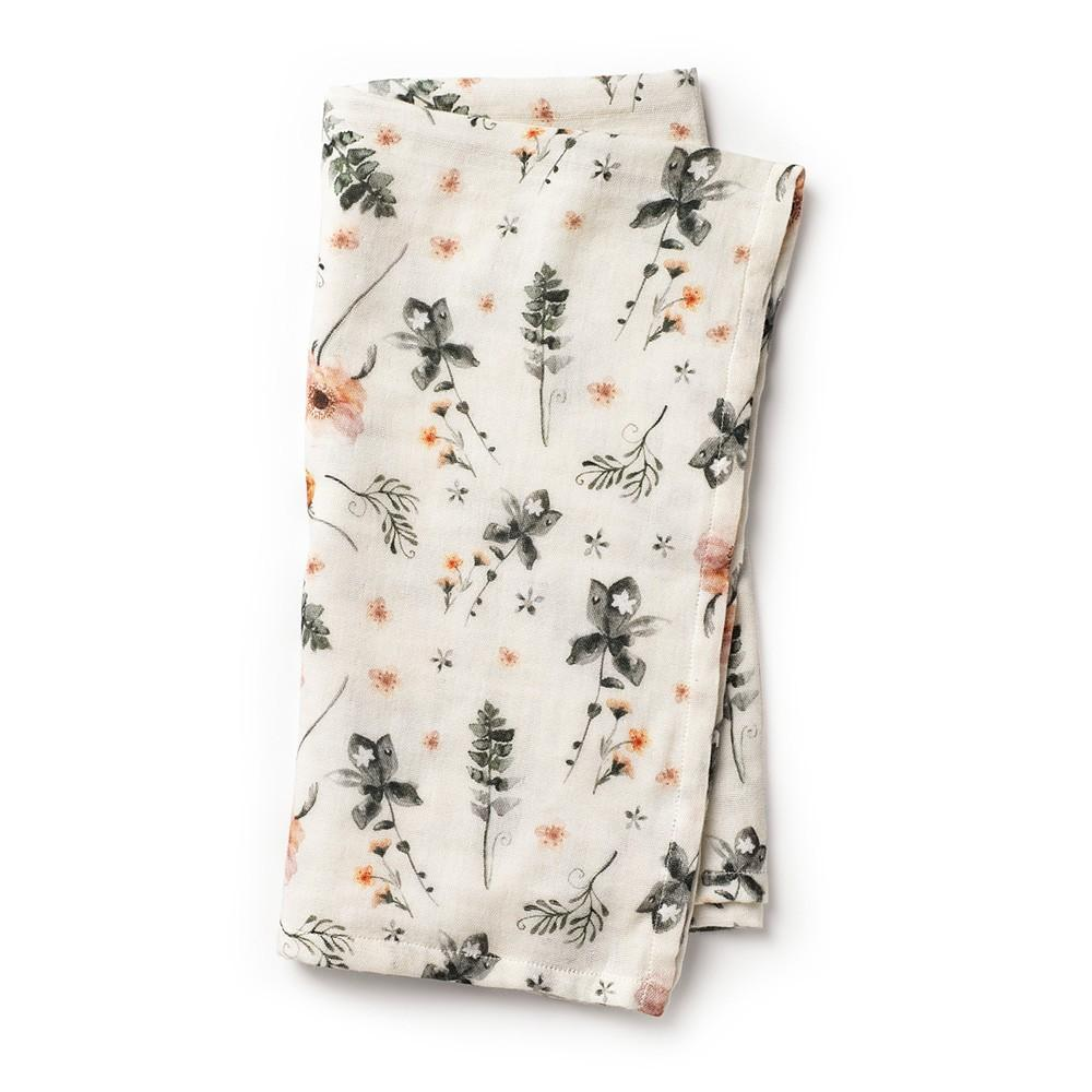 Elodie - Bamboe Hydrofiele doek Meadow Blossom