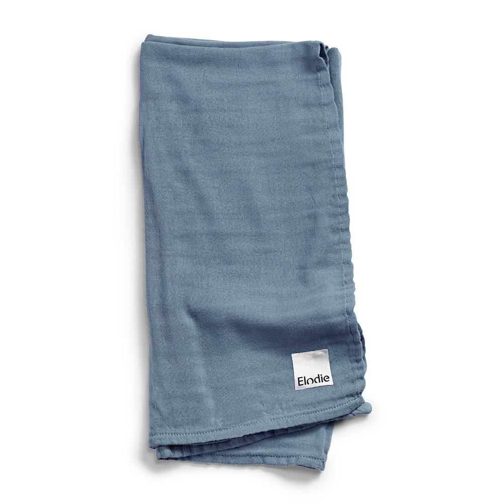 Elodie - Bamboe Hydrofiele doek Tender Blue