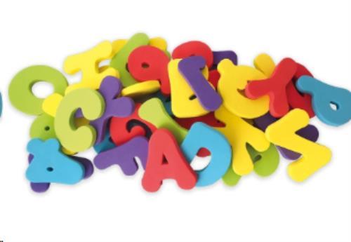 Nuby - Badspeeltjes letters en cijfers - 12m+