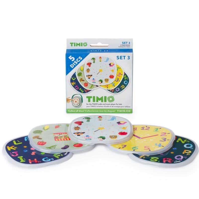 Timio - Disc Pack Set 3