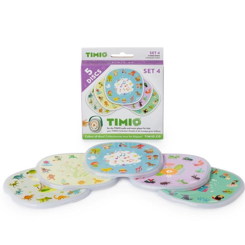 Timio - Disc Pack Set 4