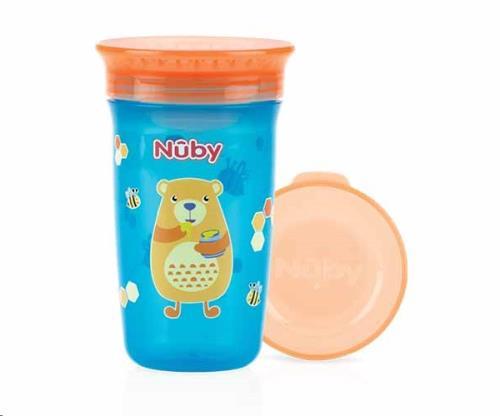 Nuby - 360gr Wonder Cup - Aqua - 300ml - 6m+