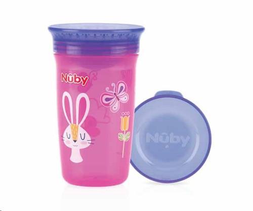Nuby - 360gr Wonder Cup - Roze - 300ml - 6m+