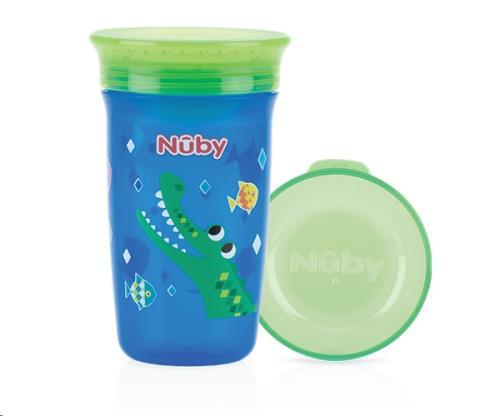 Nuby - 360gr Wonder Cup - Blauw - 300ml - 6m+