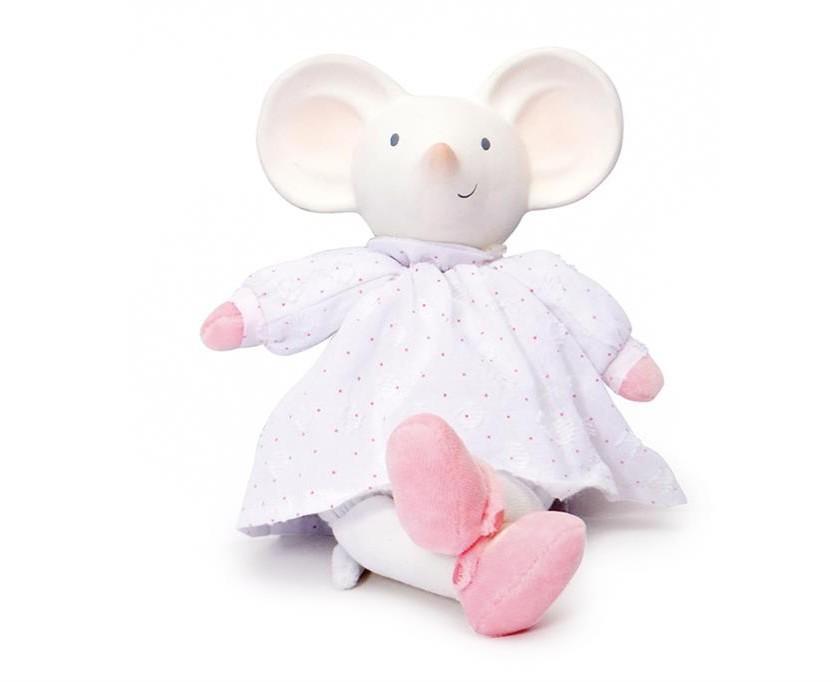 Meiya & Alvin - Muis Meiya - Soft Toy Met Hoofdje 19Cm