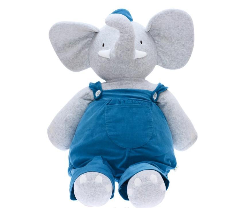 Meiya & Alvin - Olifant Alvin Large Soft Toy 85Cm