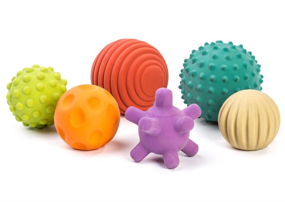 Miniland - Eco - Rubber Ballen Diam.7cm, vanaf 0Y