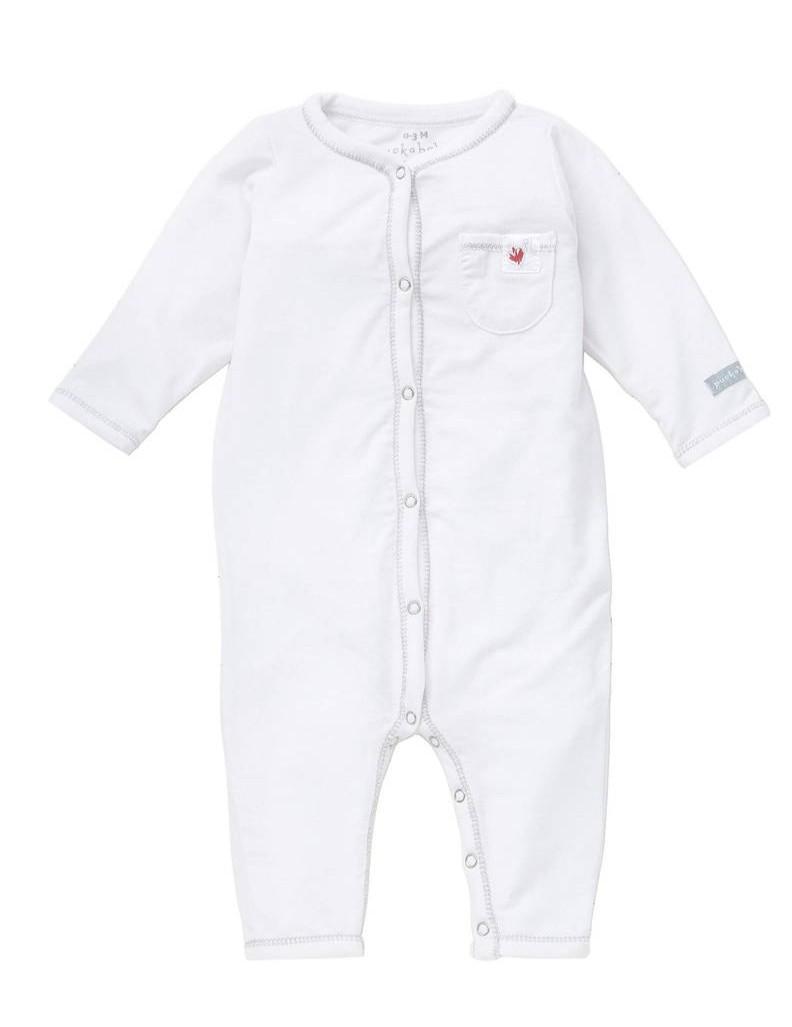 Puckababy - Pyjama - 12-18 Months - Tencel White