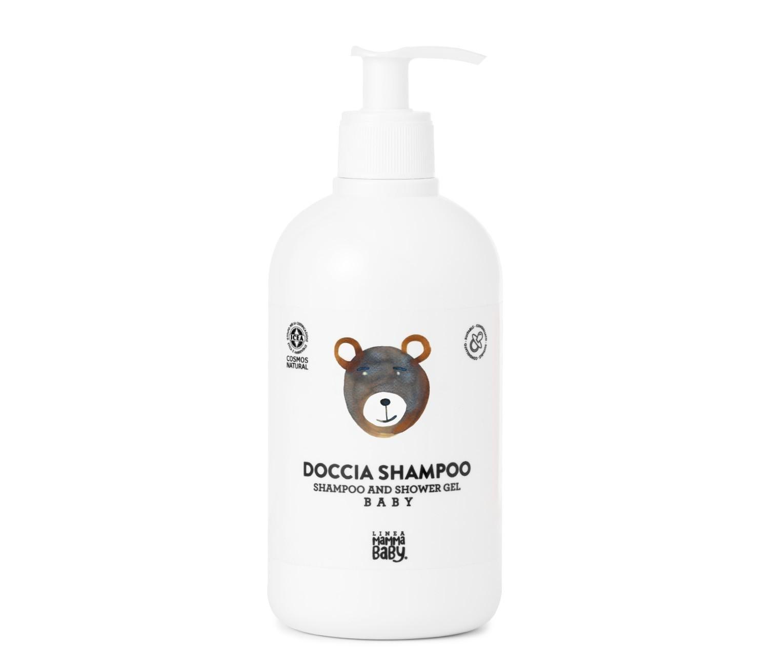 Linea Mammababy - Baby Shampoo and Shower Gel dispenser, 500ml
