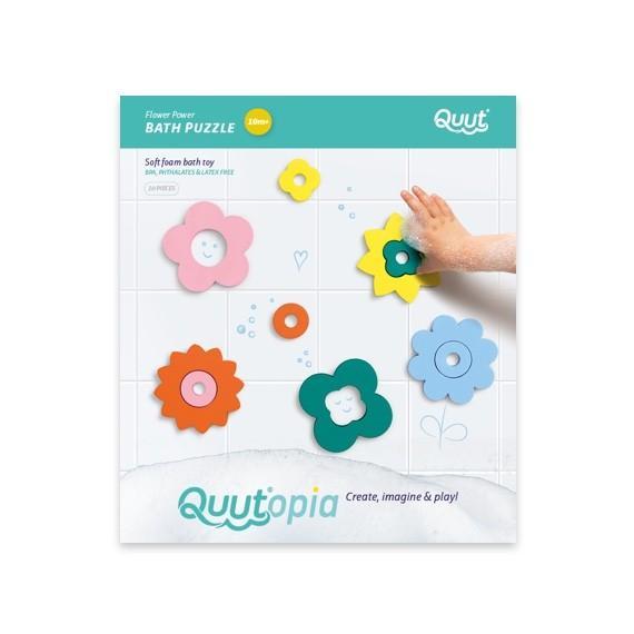 Quutopia - bath puzzle Flower Power
