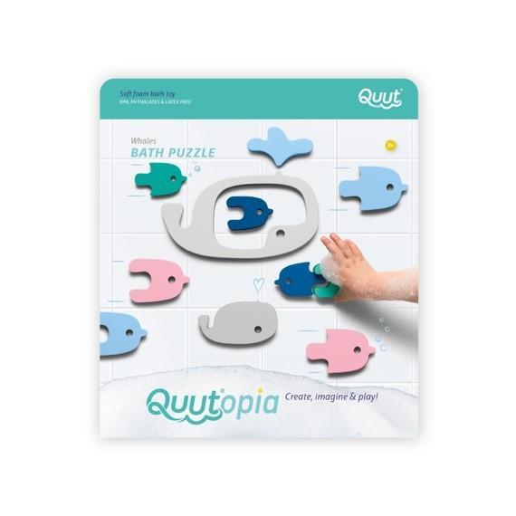 Quutopia - bath puzzle Whale