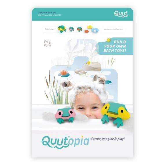 Quutopia - Building Set Frog Pond