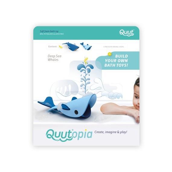 Quutopia - Building Set Deep Sea Whales