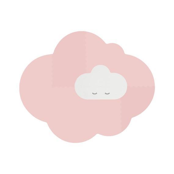 Quut - Playmat - Head in the clouds L Blush Rose