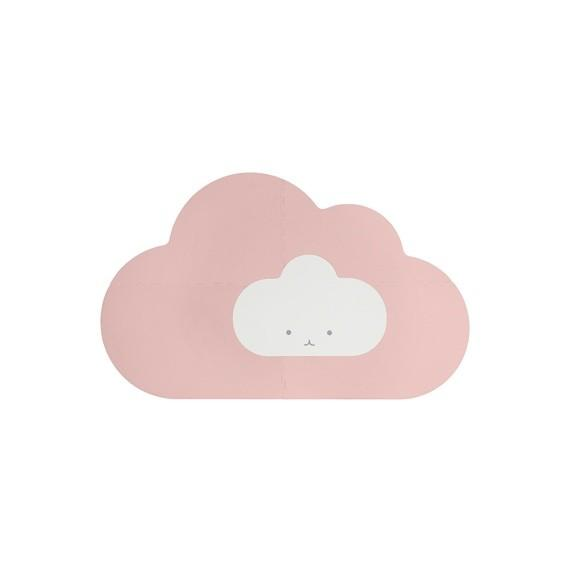 Quut - Playmat - Head in the clouds S Blush Rose