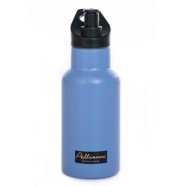 Pellianni - Isolatiewaterfles Blauw 350ml