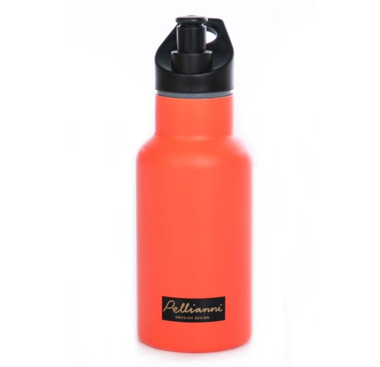 Pellianni - Isolatiewaterfles Oranje 350ml