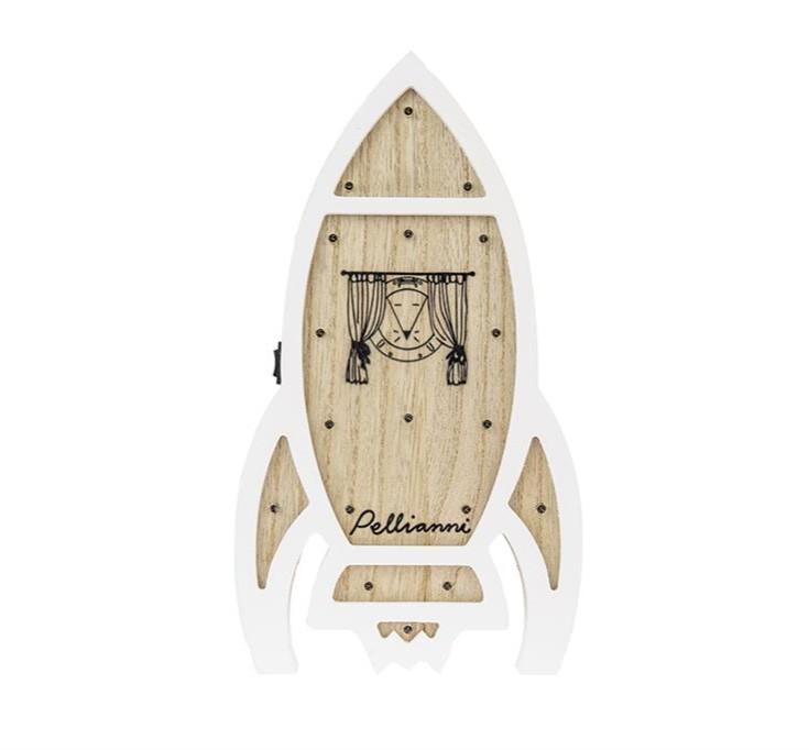Pellianni - Lamp Raket, Tafel- Of Hanglamp, 3+