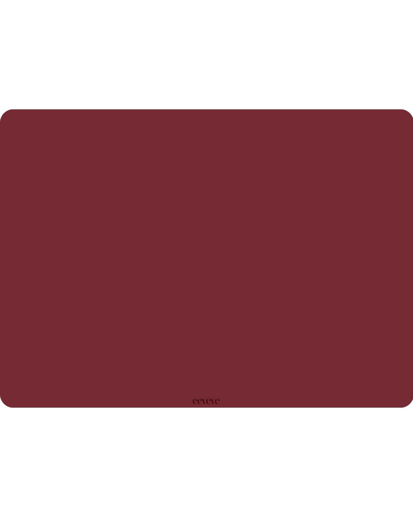 Eeveve - 6x Placemats Marsala - Red