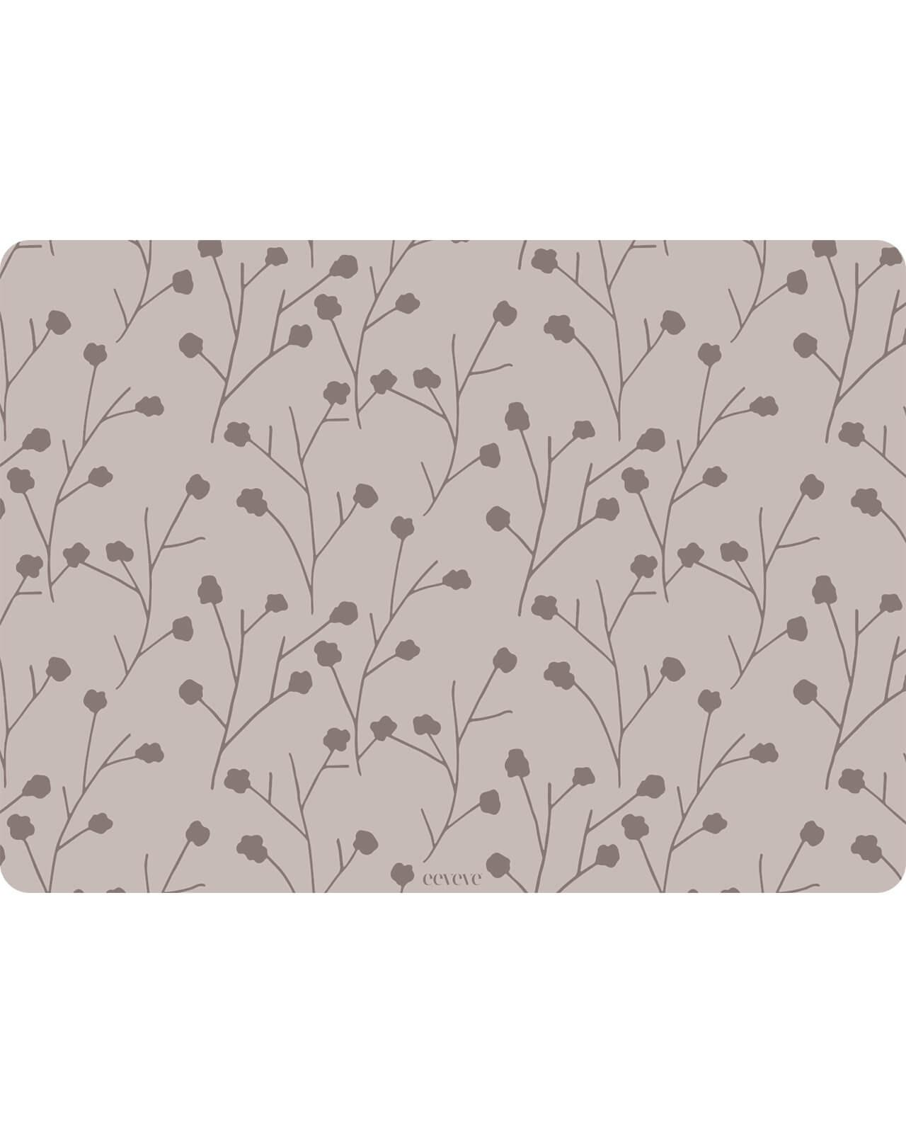 Eeveve - 6x Placemats Flower twig - Dust