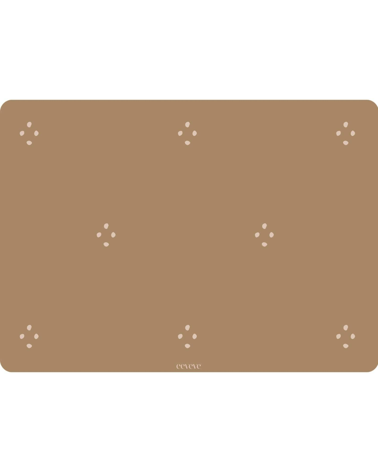 Eeveve - 6x Placemats Dotted - Autumn Gold