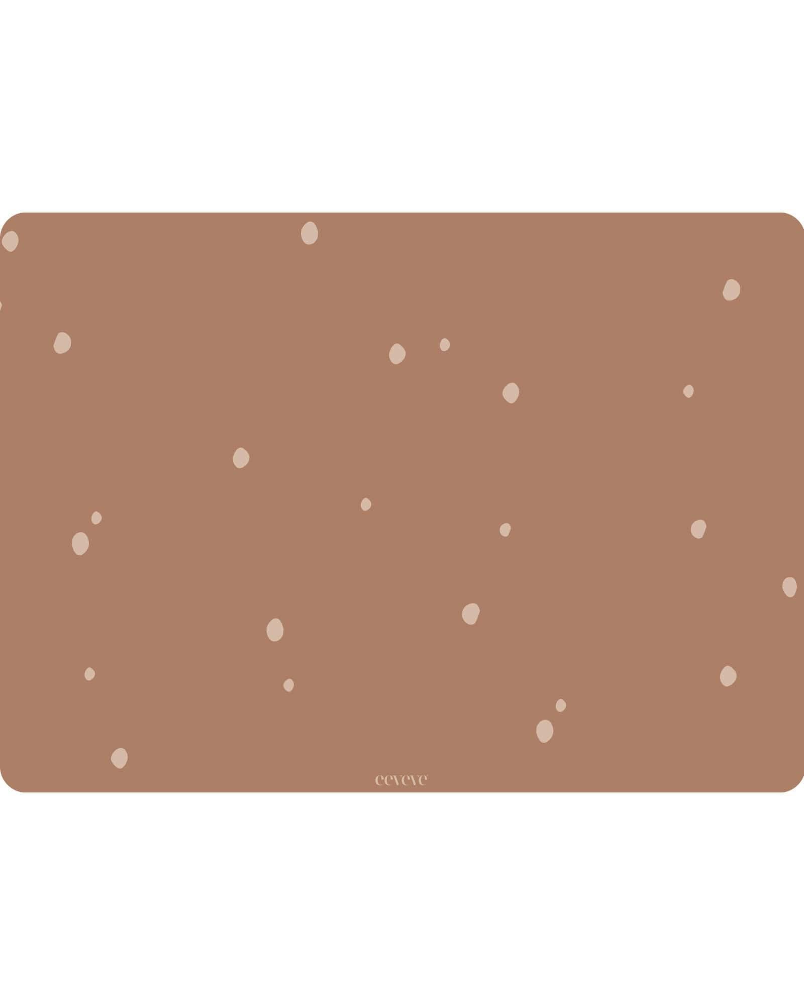 Eeveve - 6x Placemats Dots - Cinnamon