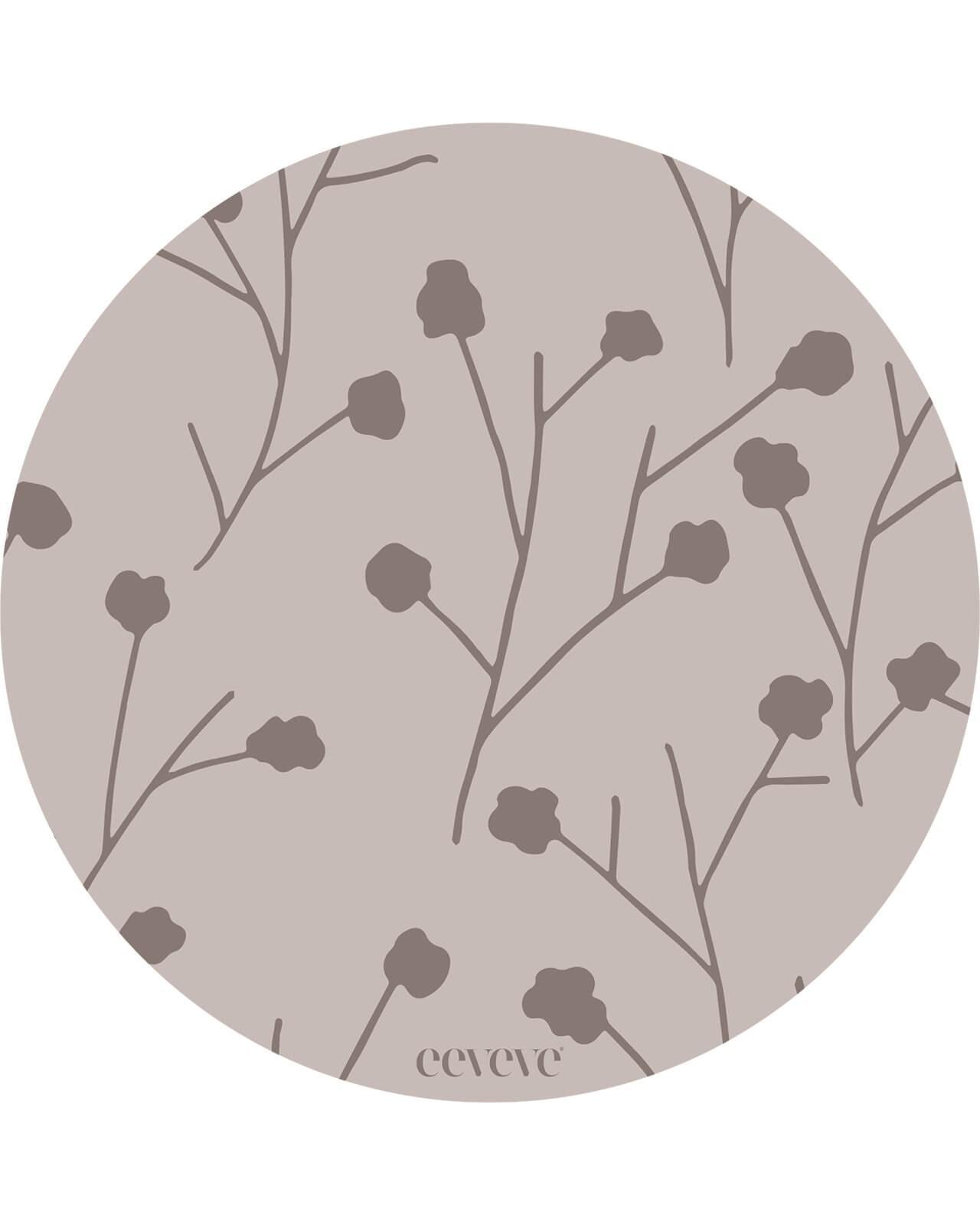 Eeveve - 12x Onderleggers Flower twig - Dust