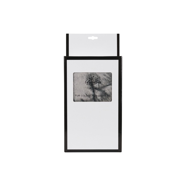 Bjallra - Bonten Kraag Voor Kinderwagen - Grey Size L