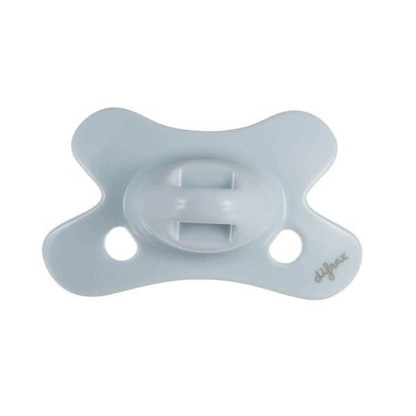 Difrax - Fopspeen Dental 0-6 M Uni/Pure Blauw/Ice