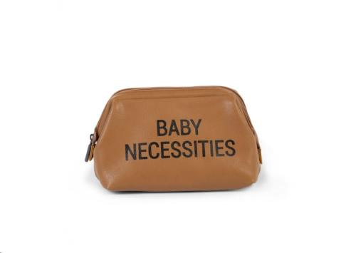 Childhome - Baby Necessities Leatherlook Bruin