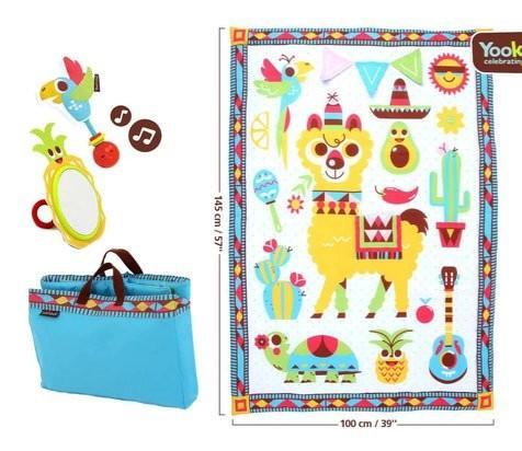 Yookidoo - Fiesta Playmat to Bag