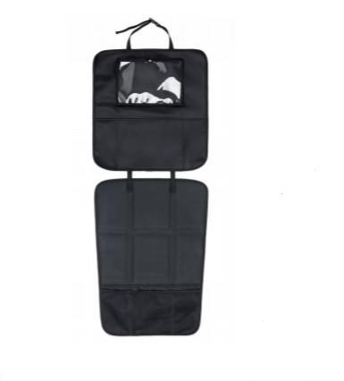Babydan - Autostoelbeschermer 3-in-1 zwart