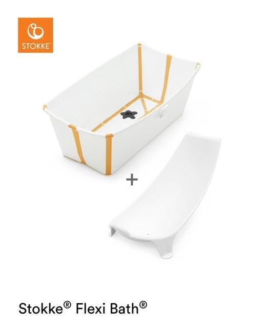 Stokke - Flexi Bath Bundle White Yellow