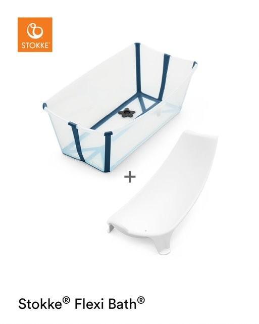 Stokke - Flexi Bath Bundle Transparent Blue