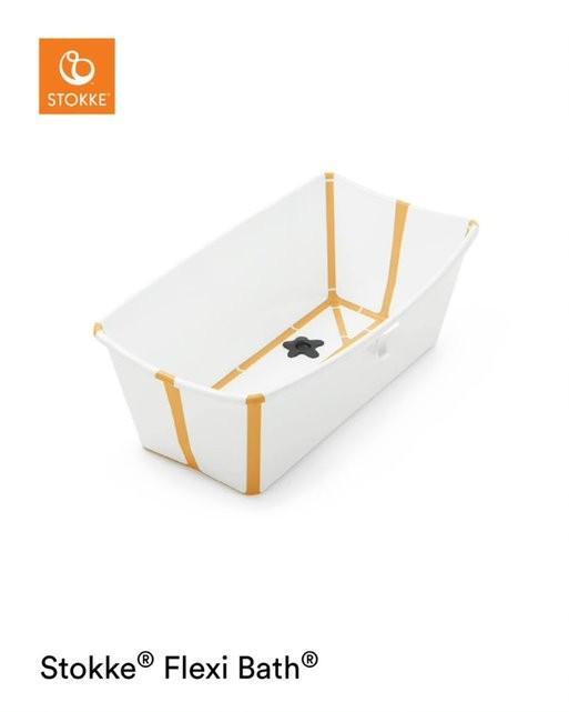 Stokke - Flexi Bath White Yellow