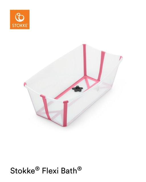 Stokke - Flexi Bath Transparent Pink