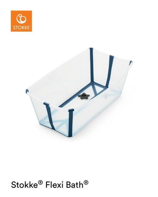 Stokke - Flexi Bath Transparent Blue