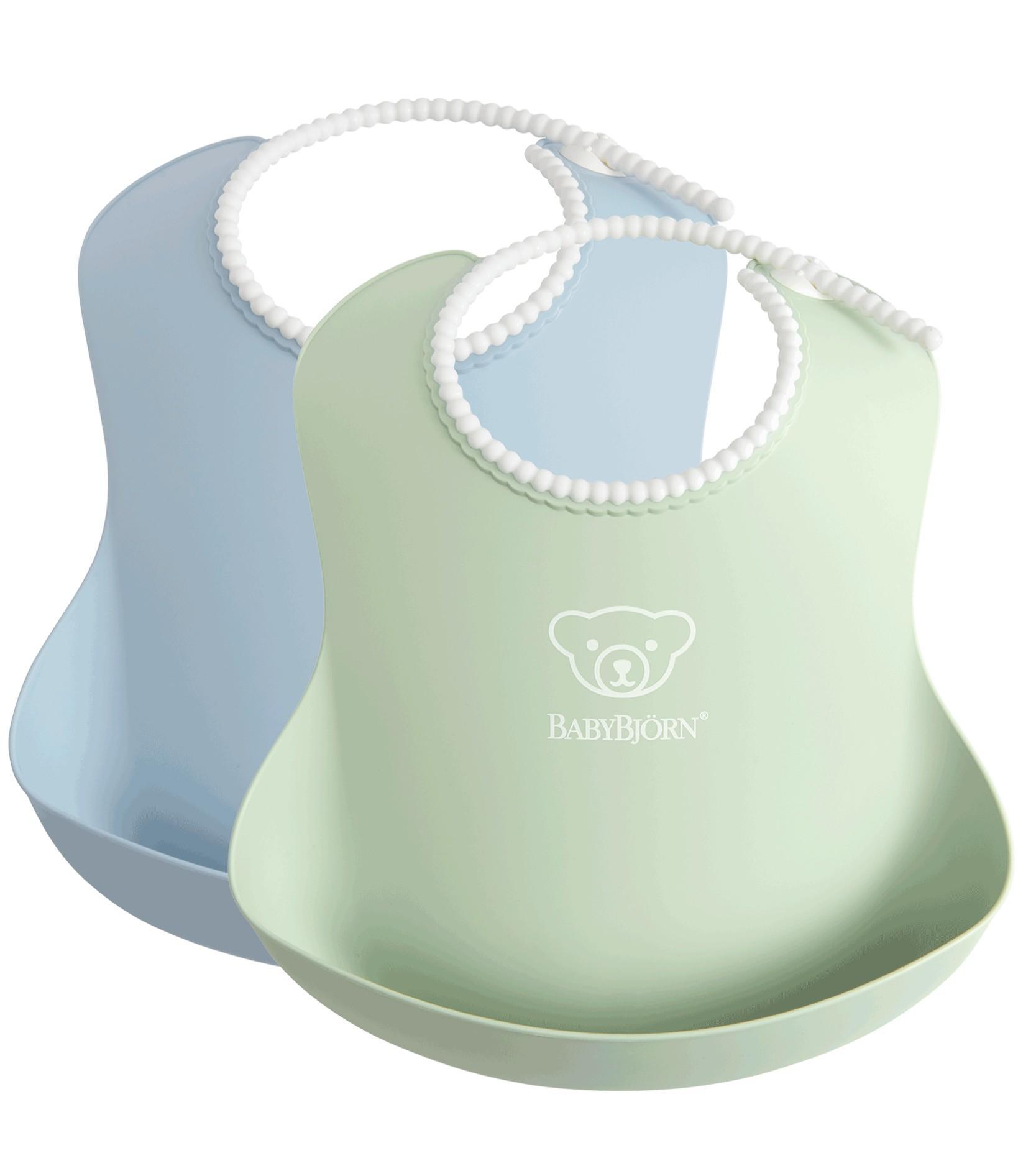 Babybjorn - Baby Slab duopack Pastelgroen Pastelblauw