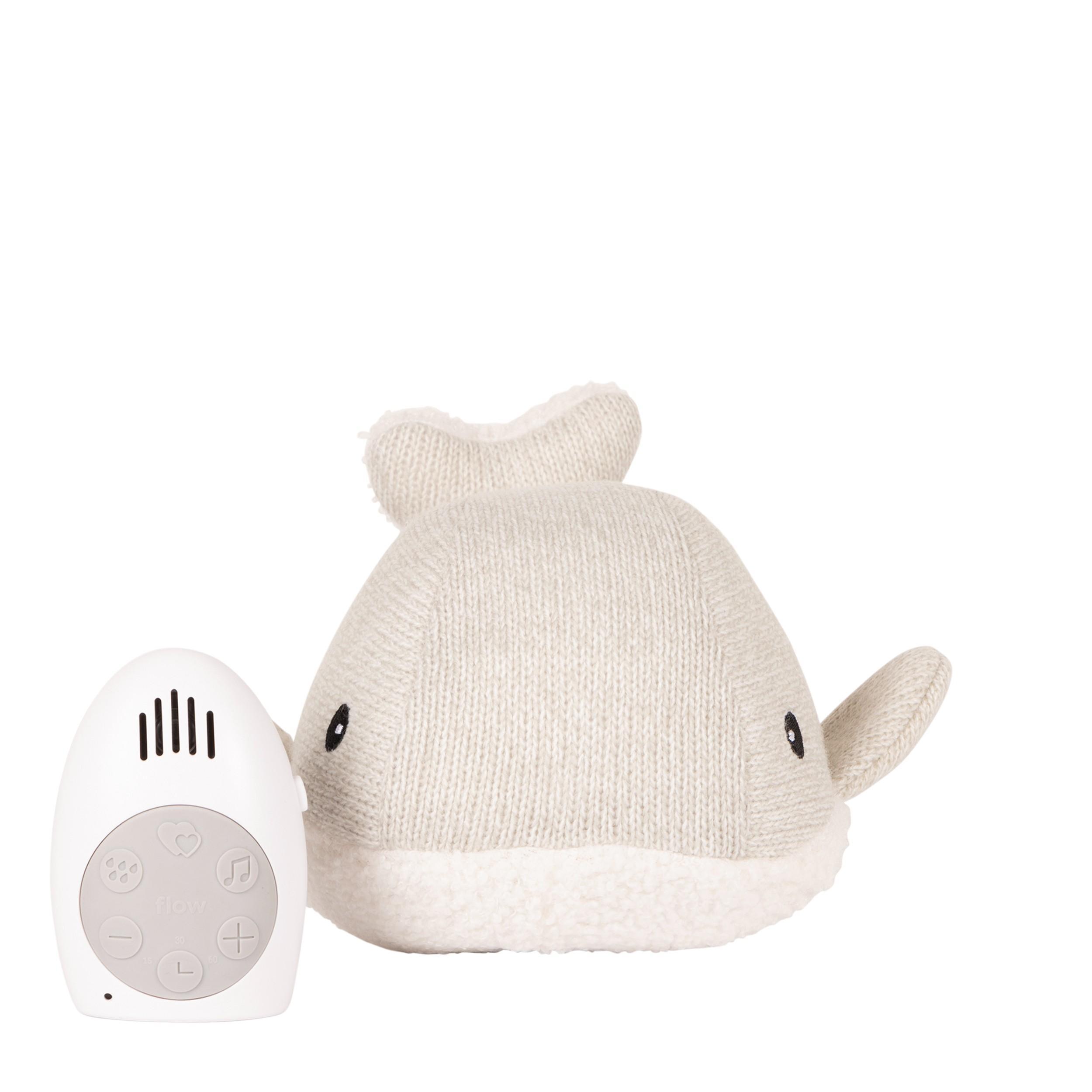Flow - Hartslag comforter - Moby the Whale - grijs