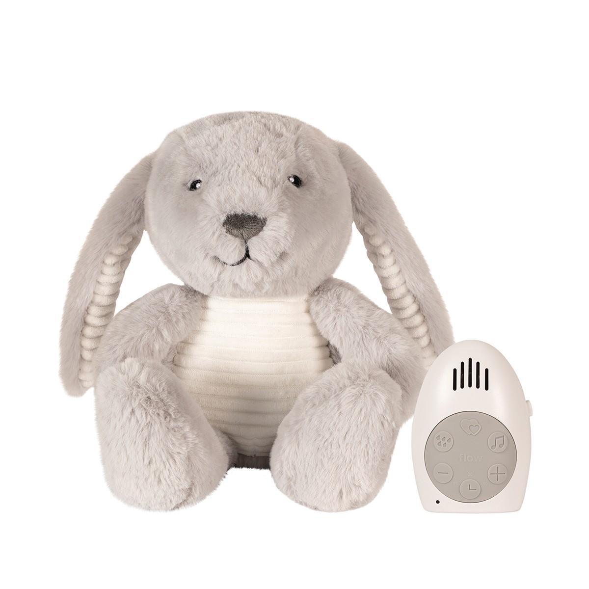 Flow - Hartslag comforter - Milo the rabbit - grijs