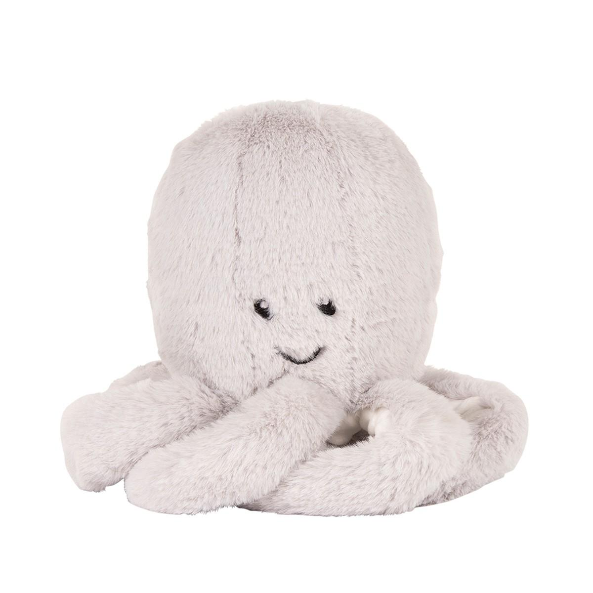 Flow - Hartslag comforter - Olly the octopus - grijs