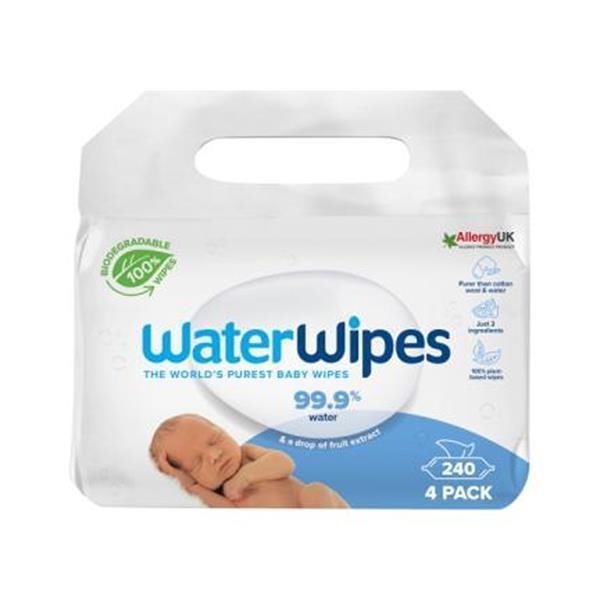 Waterwipes - Bio 240st (4 x 60 st)