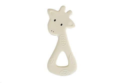 Tikiri - Bijtring - Mijn Eerste Safaridiertje / Giraf 7X14.5Cm. In Natuurlijk Rubber
