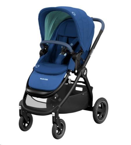 Maxi Cosi - Adorra 2 Essential Blue (Black Fram + black leather)