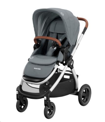 Maxi Cosi - Adorra 2 Essential Grey (Grey Frame + brown leather)