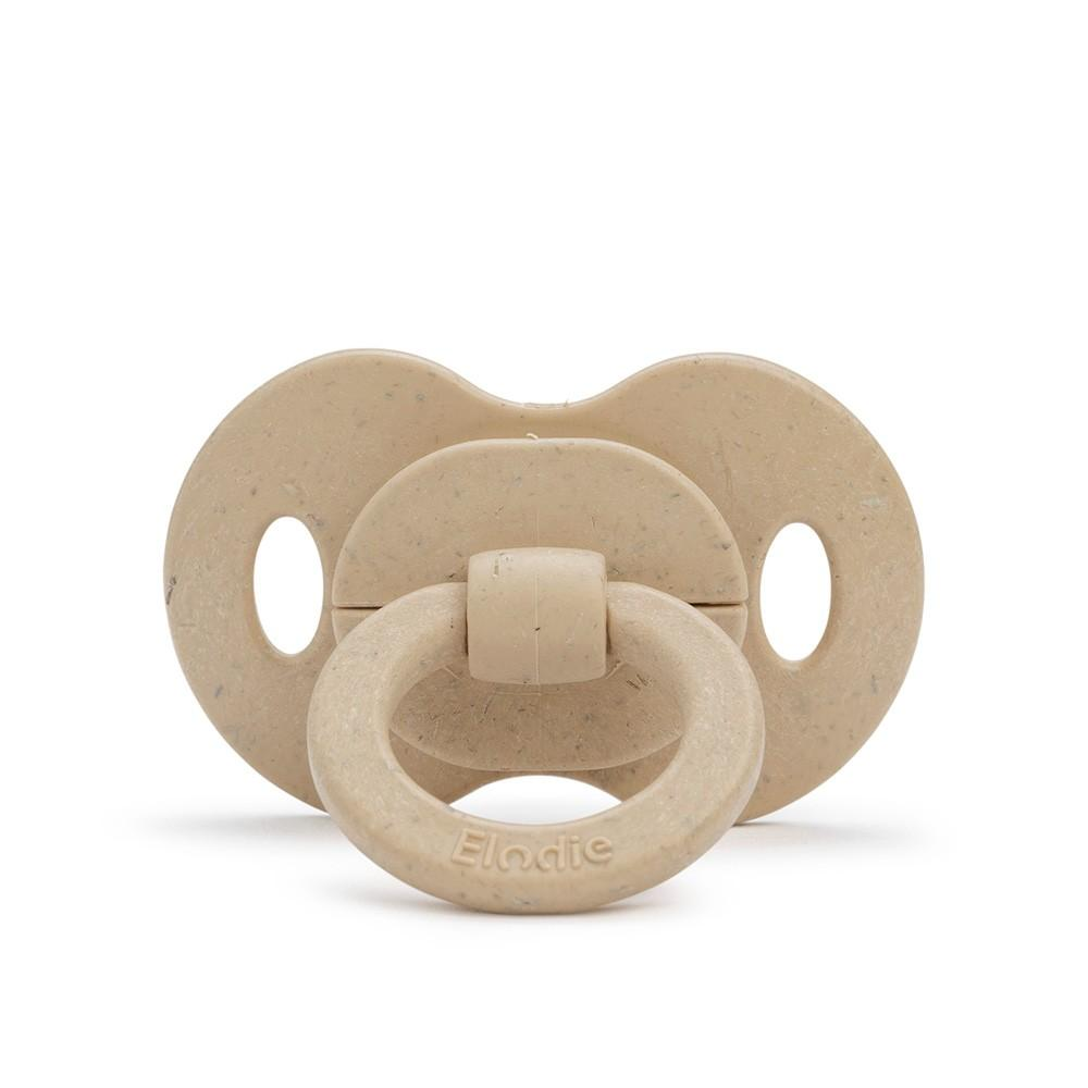 Elodie - Bamboe Fopspeen 3m+ Silicone - Pure Khaki
