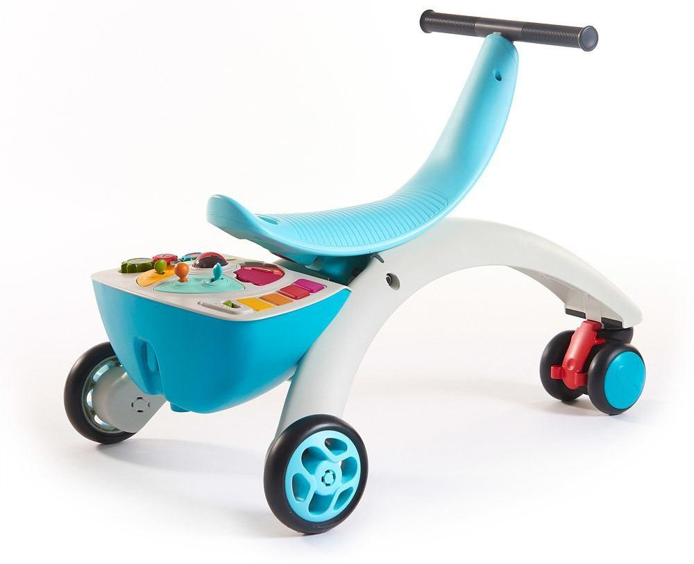 Tiny Love - 5-in-1 Walk Behind & Ride On - Blue