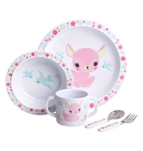 A little lovely company - Dinner Set: Deer