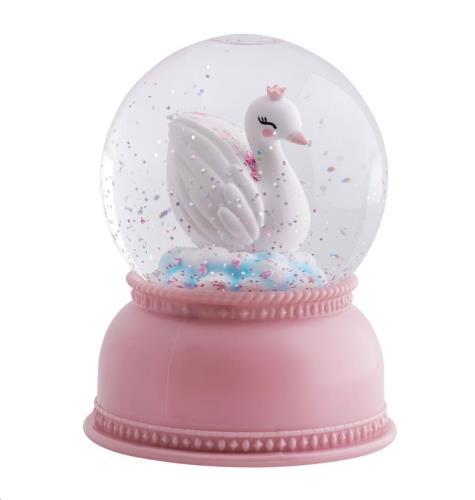 A Little Lovely Company - Snowglobe light: Swan